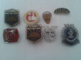 Selection of Collectible Genuine Vintage Transport Badges c1950-60s - Any Sensible £££ Offers Please