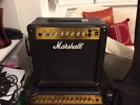 Marshall MG series 15dfx guitar amp great condition never gigged