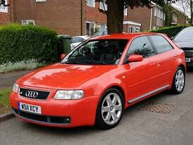 Facelift audi S3 low mileage with a fsh and good condition