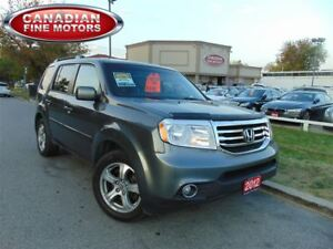 2012 Honda Pilot EX-L/ LEATHER/ SUNROOF/ 4WD