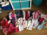 💗💜Huge bundle of gorgeous baby girls clothes 3-6 months 💗💜