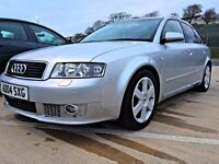 Audi A4 Avant 3L V6 Quatrro FSH 12 Months MOT Xenon Lights Alloy Wheels Full Leather BMW VW FORD