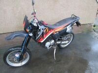 Aprilia 50cc Motorbike. Engine needs new pison and ring. Good use for parts and spares.