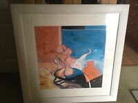 Original painting professionally framed