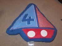 Catherine Lansfield Kids Sailing Boats Cushions x 2