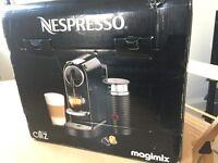 NESPRESSO CITIZ&MILK COFFEE MACHINE LIMOUSINE BLACK - Collection only