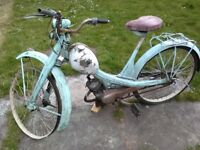 nsu quickly vintage moped restoration project spares or repair