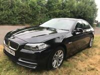 BMW 5 Series Saloon,AUTOMATIC, Facelift 2.0 520d SE 4dr, brown leather interior, 17000 miles only