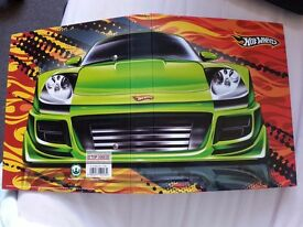 hot wheel binder/collectible with collectible papers
