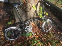 Brompton S2L Matt Black in excellent condition with very little use.