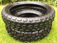 Yamaha TW, Bridgestone Trail Wing Tyres