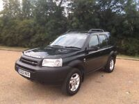 Landrover Rover Freelander 2002 Auto Low Mileage 68000 Miles Service History Recent Cambelt Change