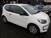 Volkswagen UP! 1.0 Take Up Hatchback 3dr 2014 (64 reg), Hatch / 1 owner car ! warranted 34400 miles!