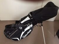 Full set of Lynx Black Cat Irons – 1,3,5 Thunder Woods - Odyssey Putter-TaylorMade Bag