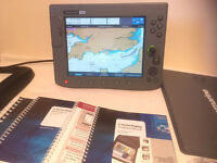 Raymarine C120 Chartplotter MFD Radar Sonar GPS
