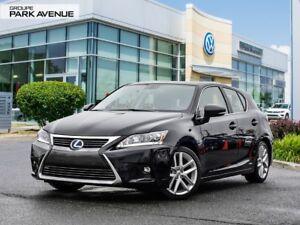 2016 Lexus CT 200h Hybrid 5,5L/100 KM !! TOIT OUVRANT