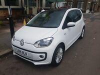 2014 VW UP! for Sale 1.0 High up! ASG, AUTOMATIC, SAT NAV, Auto SunRoof, New MOT, Cheap to run