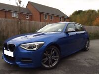 BMW M135i 5door £17500 inc BMW Warranty & Service Pack!
