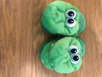 Kids slippers - size XS and 10