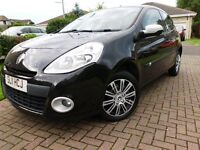 2011 Renault Clio. 33K miles one previous owner and with free 3 mth warranty.