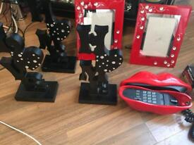 Picture frames, home telephone
