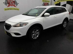 2015 Mazda CX-9 GS, Auto, 3rd Row Seating, Leather, Sunroof, AWD