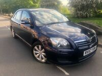 2007 57 Toyota Avensis colour collection 2.0 d4 d 6 speed. 4 door # 2 owners # fsh