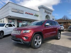 2015 Jeep Grand Cherokee LIMITED,LEATHER,ALLOYS,HTD SEATS,