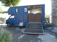 Reliable Renault 5.5 ton Horsebox stalled for 2 horses with living