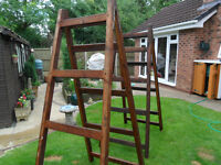 Wooden Tressels for use when doing DIY