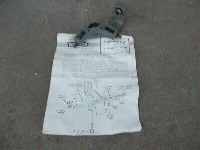 Craftsman 6 Lathe Follower Rest M6-396 Instructions