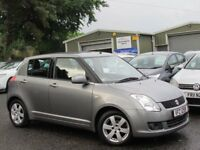 2009 SUZUKI SWIFT 1.5 GLX 5 DOOR 2 OWNERS BLUETOOTH FULL SERVICE HISTORY EXCELLENT CONDITION