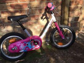 Girls 14 inch bike for sale