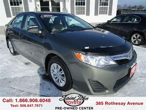 2014 Toyota Camry LE $122.10 BI WEEKLY!!!