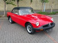 1978 MGB GT Sports 1.8 2dr Convertible - Just Serviced, Tax Exempt