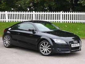 2008 (08) Audi TT Coupe (MK 2) Quattro Coupe 3.2 V6 S Tronic Petrol Black