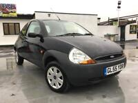 2005 FORD KA PETROL MANUAL, F/S/H, ONE OWNER FROM NEW.