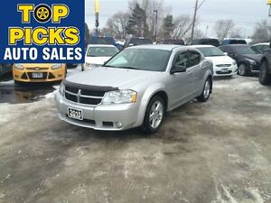 2010 Dodge Avenger R/T, ALLOY WHEELS, FOG LIGHTS, LOW MILEAGE!