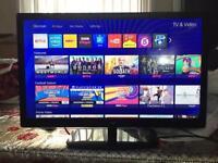 32inch logik led slim hd tv built in freeview