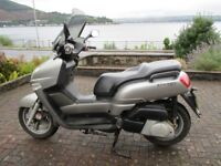 yamaha versity 300 M.O.T one full year no advisers 19000km few marks but no from falling off