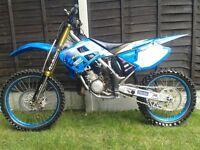 Tm 125 motocross kx cr yz ktm £900