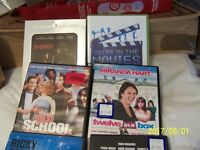 mixed selection of dvds include comedians and movies