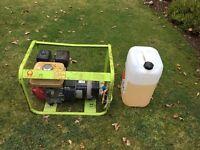 Honda Petrol Generator Portable 2.5KVA plus extra petrol