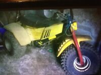 125 Yamaha off road trike barn find sell or swap quad scrambler