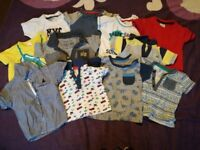 Open to offers - 6-9 months t-shirts