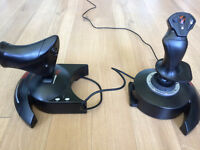 Barely used T-Flight HOTAS X