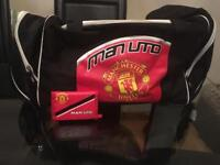 Manchester United holdall & wallet