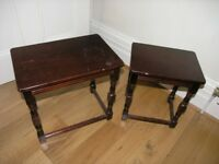 Two Coffee Tables Ideal For shabby chic Weymouth