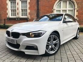 2014 BMW 3 Series 2.0 320i M Sport (s/s) saloon** RED LEATHER** HUGE SPEC** PX WELCOME 330i 325 318