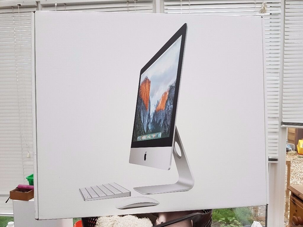 """21.5"""" Apple iMac 2015 Hardly Usedin York, North YorkshireGumtree - Apple iMac 2015 Only a couple of weeks old Still has rest of Apple warranty Like new and boxed Collection York Good saving on new 21.5"""" Screen Intel Core i5 processor Turbo Boost up to 2.7GHz 8GB of onboard memory, configurable up to 16GB 1TB hard..."""